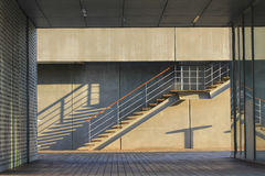 затеняет лестницы Стоковая Фотография RF