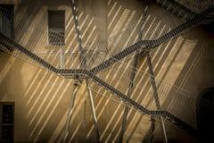 затеняет лестницы Стоковое Фото