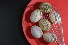 Затеняет картину сырцовых яя стоковые фотографии rf