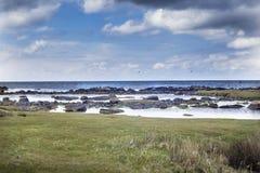 Затишье Torekov выравнивая шведский архипелаг Стоковая Фотография RF
