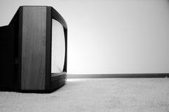 заткнутая стена телевидения Стоковое Изображение