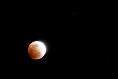 затмение лунное Стоковая Фотография