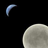 затмение солнечное Стоковые Фотографии RF