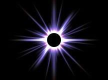 затмение солнечное стоковое фото
