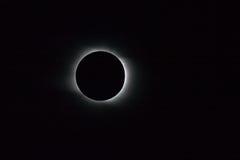 затмение солнечное Стоковая Фотография