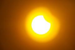 Затмение солнца Стоковое Фото