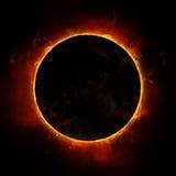 Затмение Солнця Стоковые Изображения