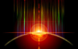 затмение Стоковое фото RF