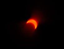 затмение 4 солнечное Стоковое Изображение RF