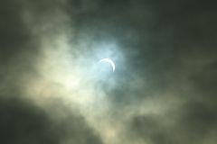 Затмение Sun Стоковые Изображения