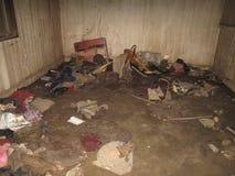 затопленная комната стоковая фотография