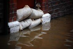 затопленная улица Стоковое фото RF