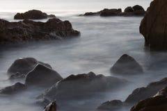 затопленный заход солнца Стоковые Фотографии RF