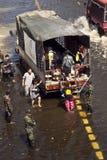 затопляет Таиланд Стоковые Фото