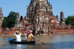 затопляет mega Таиланд Стоковая Фотография RF