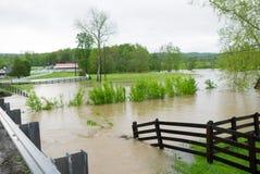 Затоплять в Теннесси Стоковые Изображения