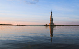 Затопленная колокольня Стоковая Фотография RF