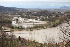 Затопленная долина Стоковое Изображение RF