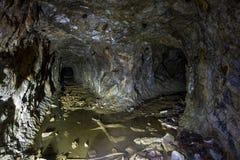 Затопленная покинутая шахта никеля Стоковые Изображения RF