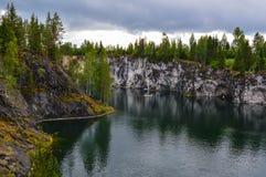 Затопленная шахта Стоковое Изображение
