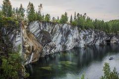 Затопленный карьер Стоковое фото RF