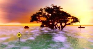 Усилие природы Стоковое Фото