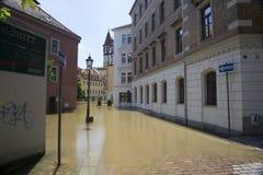 Затоплять в Meyssen Стоковое Изображение RF