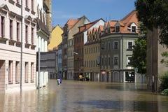 Затоплять в Meyssen Стоковые Изображения RF