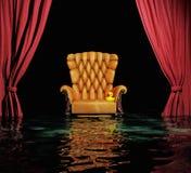Затоплять интерьер Стоковая Фотография