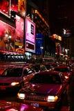 Затор движения в Таймс площадь Нью-Йорке Стоковое Изображение