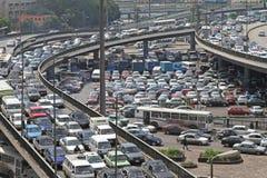 Затор движения Каир Стоковые Фото