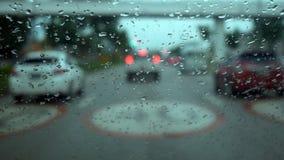 Затор движения дождя Стоковые Фотографии RF