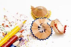 заточенные карандаши Стоковое Изображение