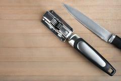Заточник ножа Стоковые Фотографии RF