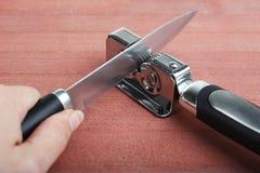 Заточник ножа Стоковые Изображения