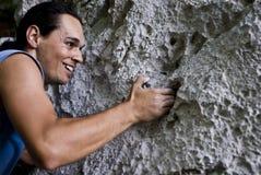 затруднение альпиниста Стоковое Изображение