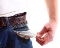 Затруднения оплаты - личные сбережения Стоковые Фотографии RF