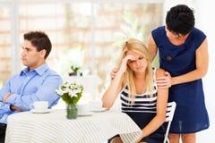 Затруднения отношения Стоковая Фотография RF