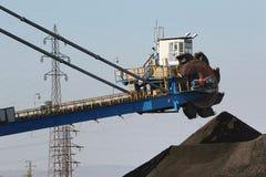 затяжелитель угля стоковая фотография rf