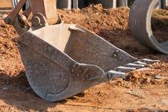 Затяжелитель Backhoe Стоковая Фотография RF