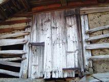 зафиксированная дверь Стоковые Изображения