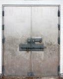 зафиксированные двери Стоковое Фото