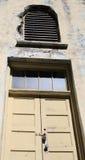 зафиксированный остров двери alcatraz Стоковое Изображение RF