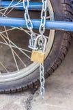 Зафиксируйте колесо Стоковая Фотография