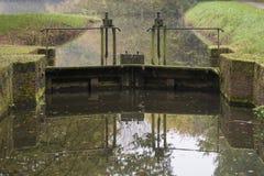 Зафиксируйте мельницу Mallumse в Eibergen в Нидерландах Стоковые Фото