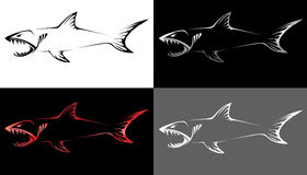 Захватнический скелет рыб Стоковые Изображения RF