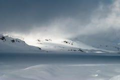 Захватывать настроение гор Стоковая Фотография