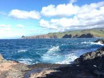 Захватывающий взгляд северо-западного Мауи Стоковое Изображение