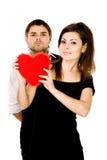 захваченное сердце i ve ваше Стоковая Фотография