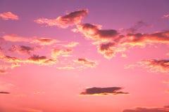заходы солнца Стоковое Фото